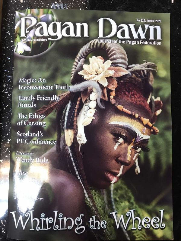 Pagan Dawn Magazine 214 - IMBOLC 2020